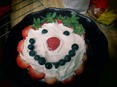 watermelon cake