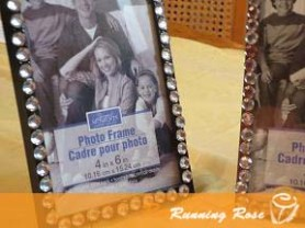DIY bling frames