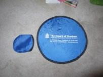 Instant pocket Frisbee.