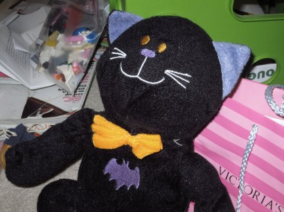 I would never throw Bat Cat away, Uhg gave him to me! 2012