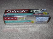 Perfectly good and unopened toothpaste.