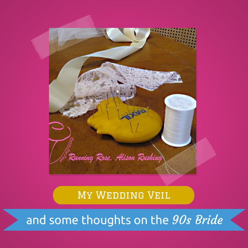 1990s wedding veil