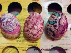 silk tie egg
