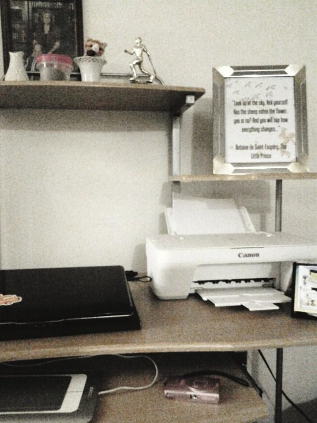 little prince desk printable