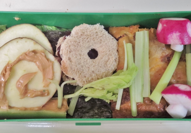 buggy garden bento lunch