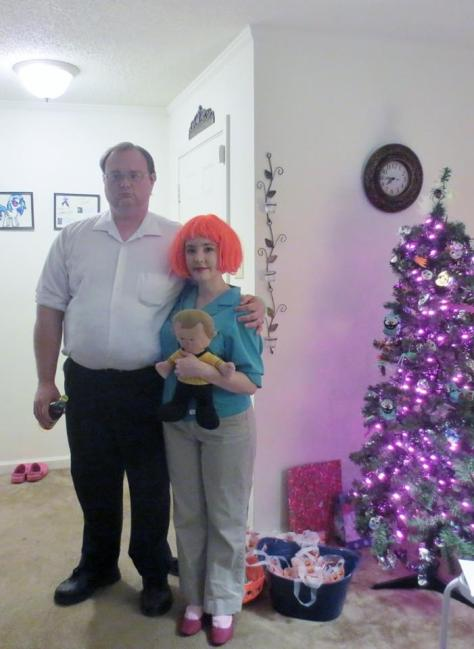 peter and lois griffin