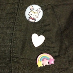 jacket button 90s